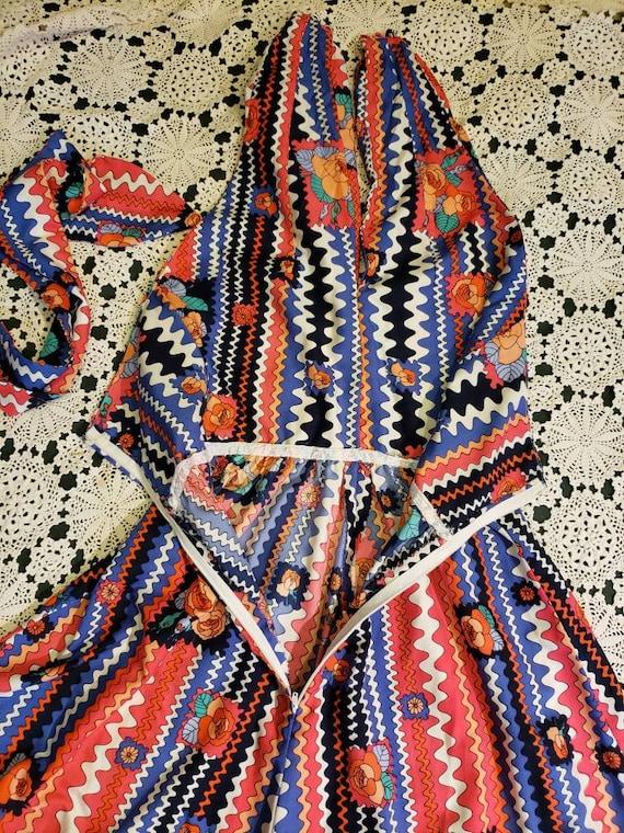 Boho Maxi Halter top dress/70s - image 9