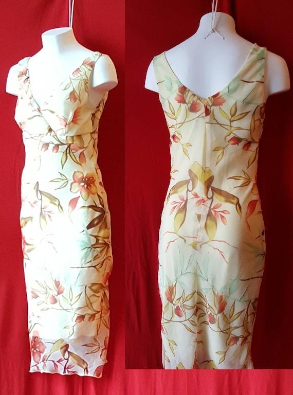 Pale Yellow Petite Size Summer Dress