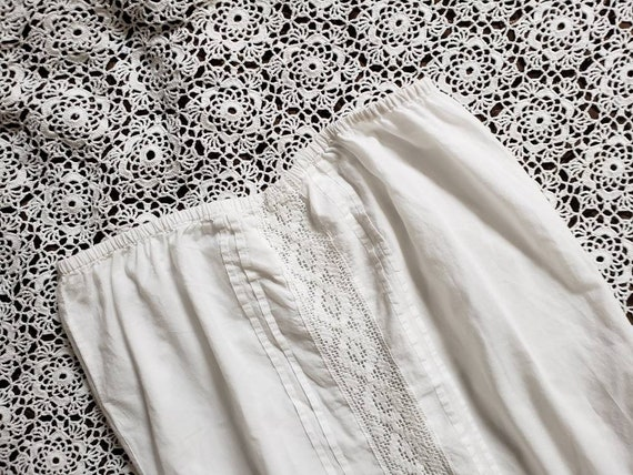 White cotton lace blouse - image 7