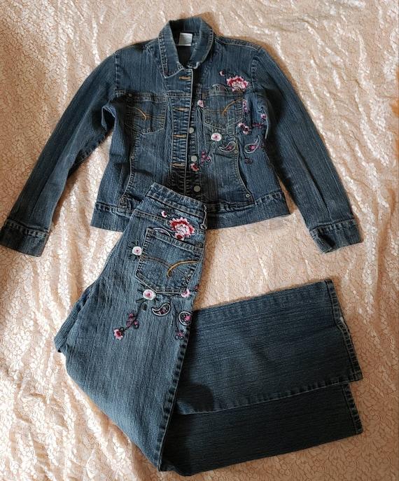 Denim jacket & Pants set
