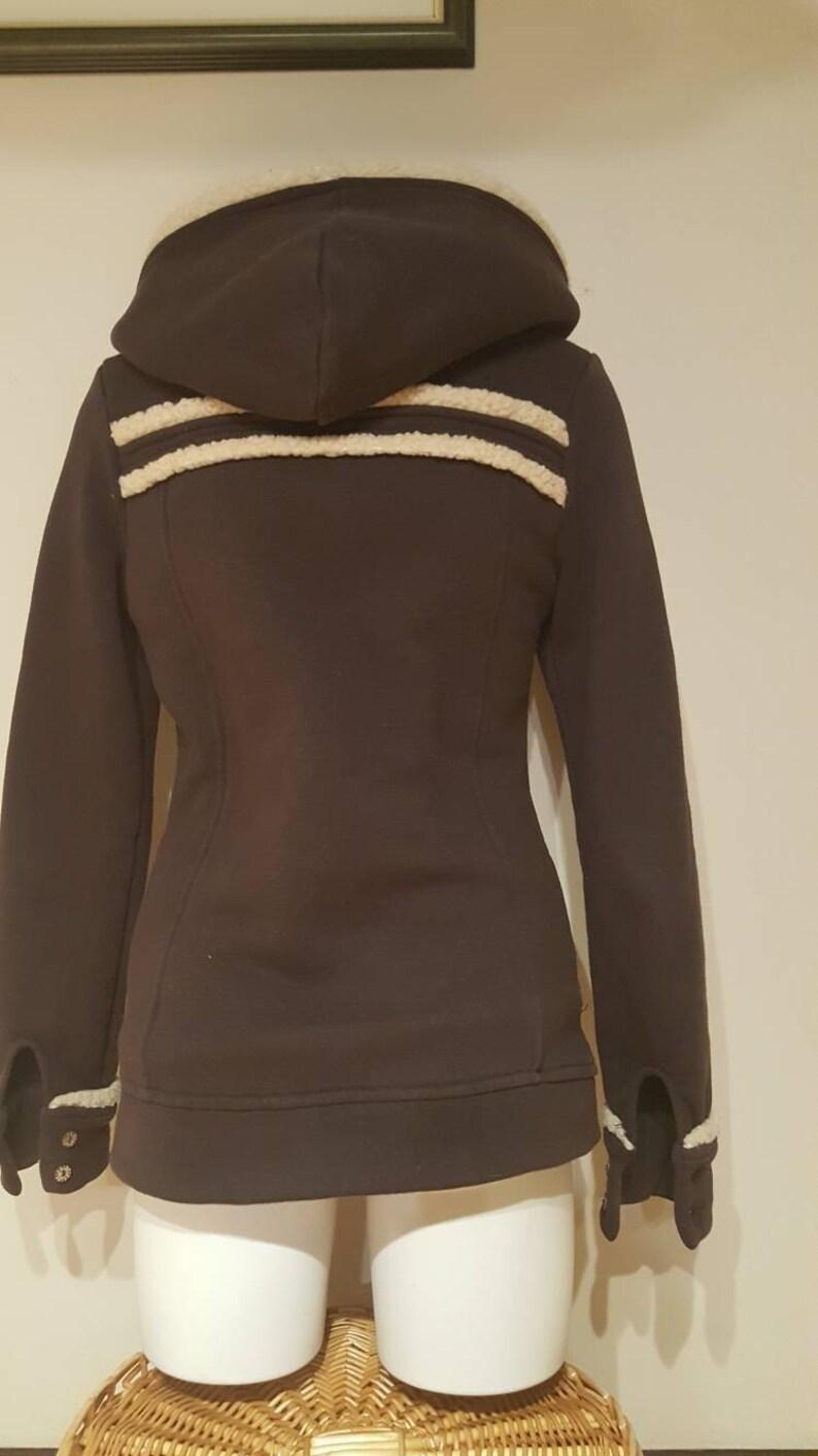 Teens Hooded Brown Jacket