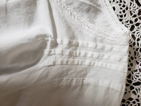 White cotton lace blouse - image 9