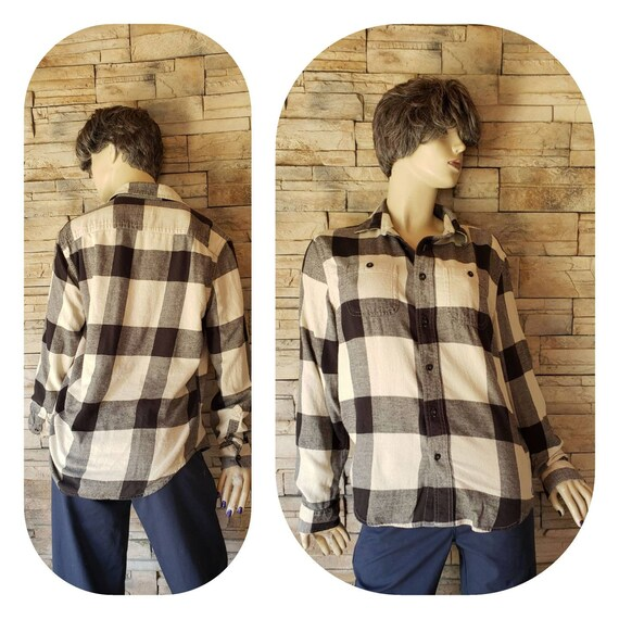 American Eagle Checkered Flannel Shirt