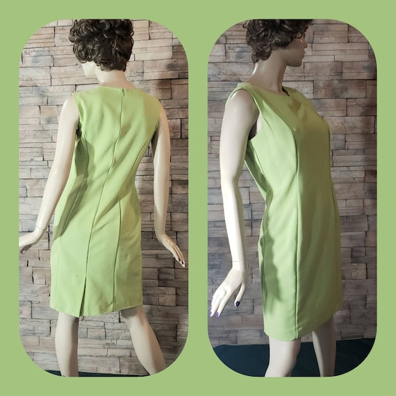 Classic Elegant  Green Dress