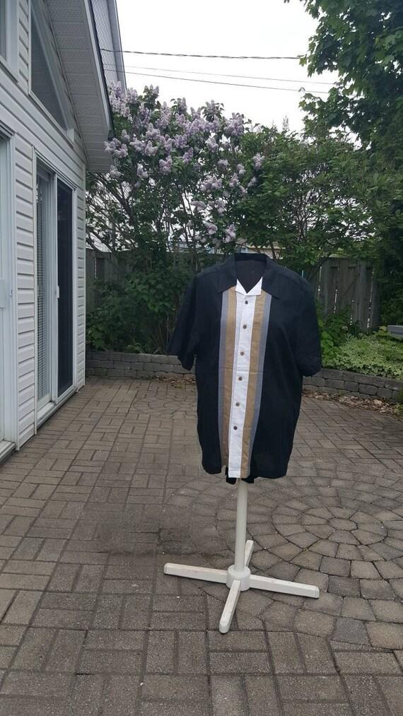 Rockabilly linen shirt/Size XL