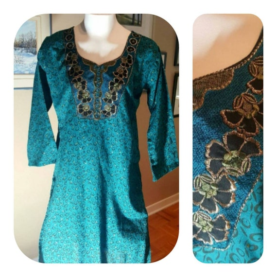 Indian tunic dress /70s
