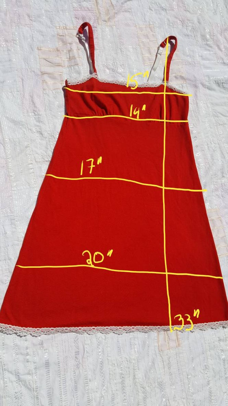 Red Nightgown set
