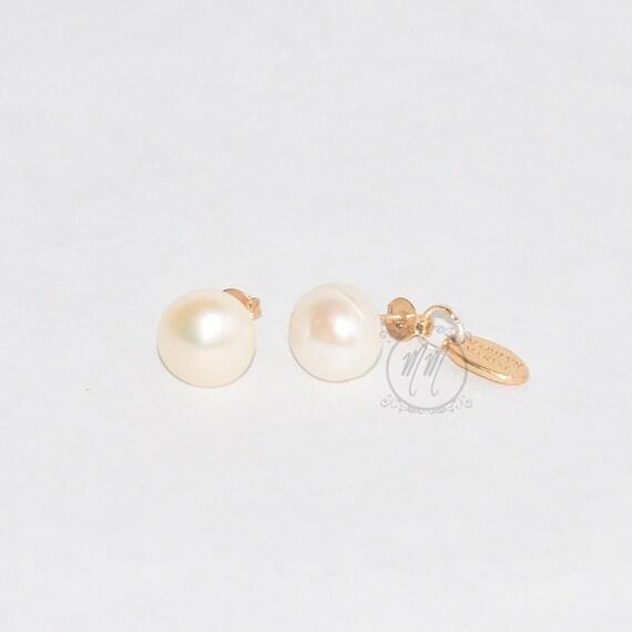 f5703264fc39 PERLAS... zarcillos pequeños de perlas cultivadas.Ideales para