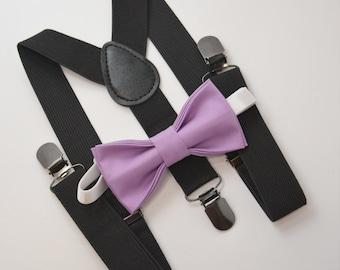 Suspenders,Adjustable Suspenders For Adult,Children,Baby,Todler,Boys,Dark Gray,Crocus Purple,Plum Purple,Wisteria.