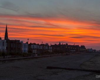 Joppa Sunset - Edinburgh