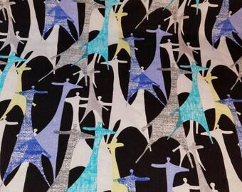 Reversible Giraffe Baby Blanket