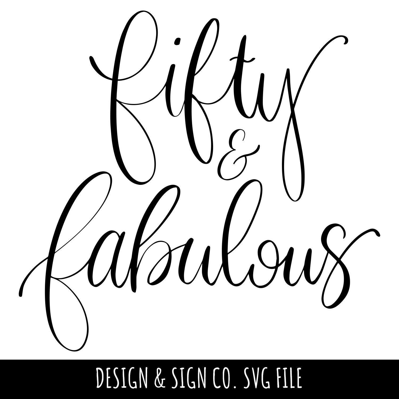 Fabulous At 50 Font