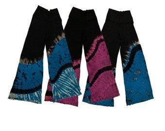 Fuego Tie dye palazzo pants