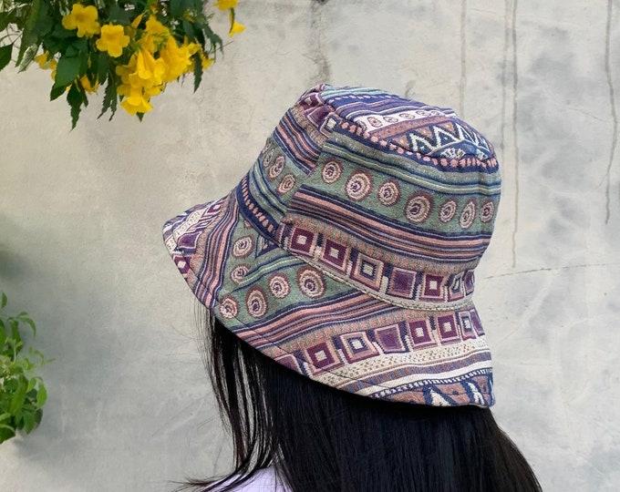 Handmade bucket hat