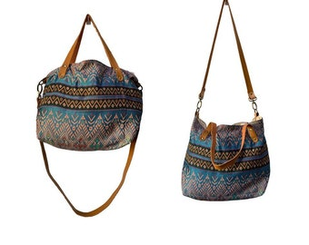 Tribal pattern purse