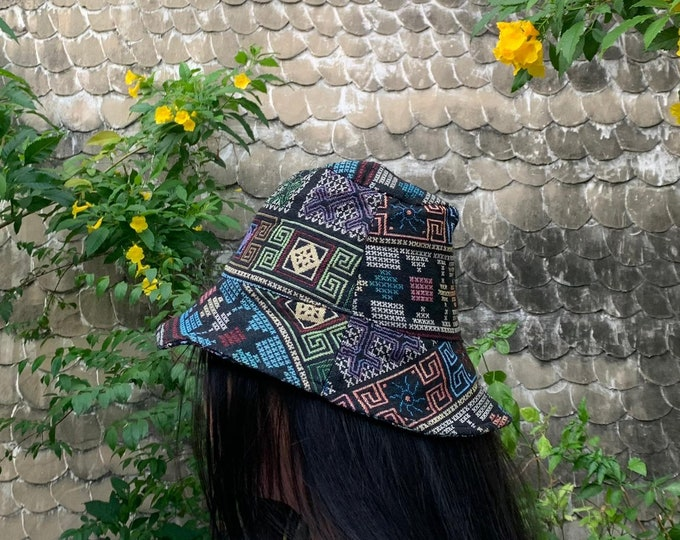 Hand made bucket hat
