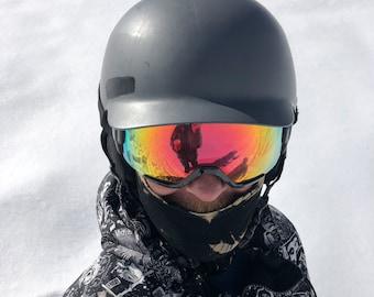 Tie dye balaclava face mask