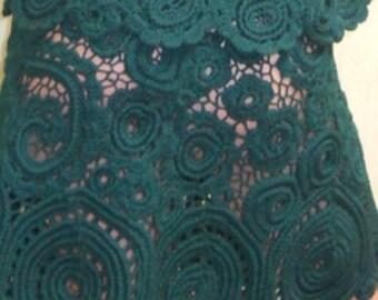 "Costume ""emerald rain"""