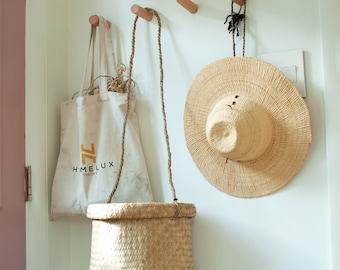 Seagrass Hanging Basket - Entry way Basket - Catchall Basket - Housewarming Gift