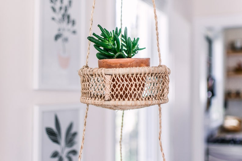 hanging fruit baskets home decor 3 tier basket kitchen etsy rh etsy com