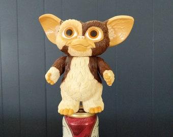 """Large Vintage Gremlins Toy Gizmo, Mogwai 7"""" Warner Bros toys, Movie Collectablle Vintage Gremlin, Movie Gizmo poseable figure Gremlin"""