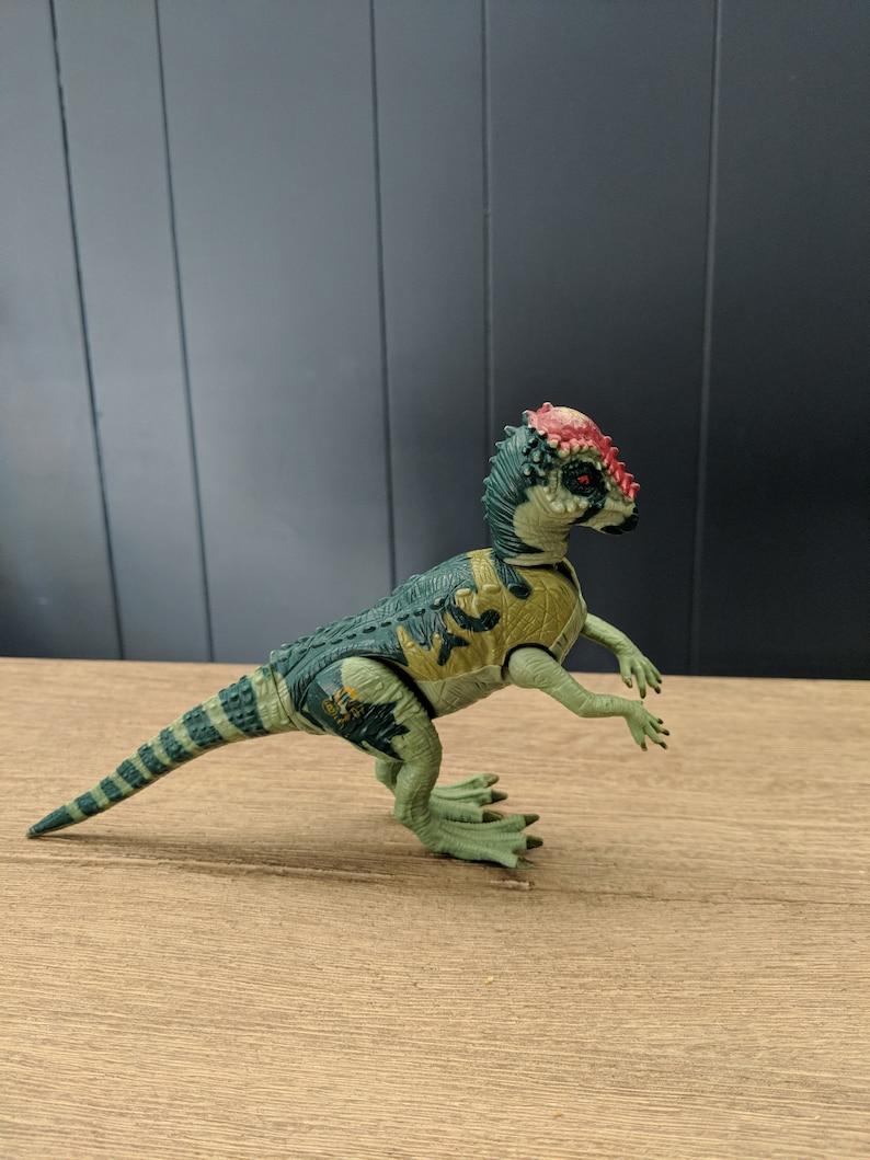 The Lost World Vintage Jurassic Park Pachycephalosaurus Ram Head Dinosaurs 1997 Kenner Moving Action figures Head ramming Jurassic Park Toy