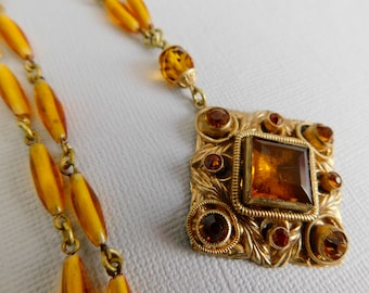 6g 4mm or larger to wear Gold Plated Filigree with amber