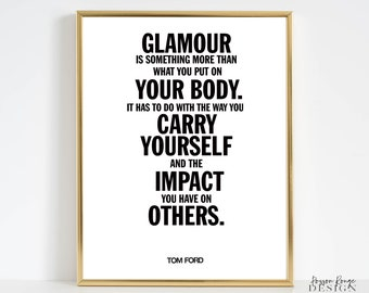 Tom Ford Quote Etsy