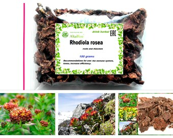 "Wild Rhodiola Rosea  ""Siberian Ginseng"" (Golden Root)  100% Natural  50g-900g Collected the Altai Mountains"
