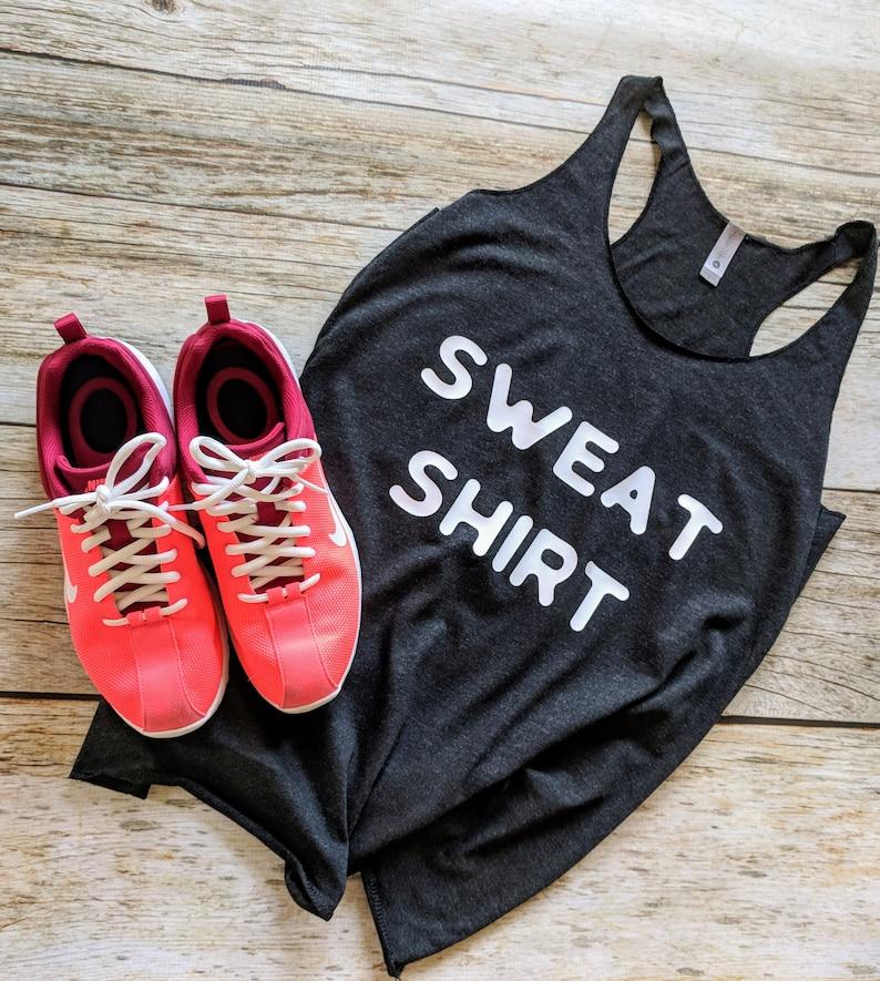Running Tank Cardio Gym Tank Sweat Shirt Workout Racerback New Years Resolution Funny Workout Shirt Workout Tank Trendy Workout.