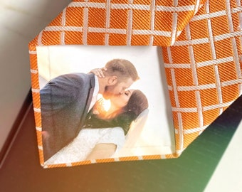 Personalized Photo 100% Silk Tie