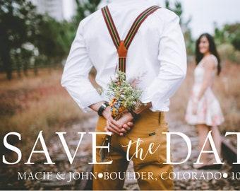 Digital Download - Custom Save the Date Postcard