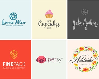 Custom Logo Design, wedding logo, logo for small business, logo branding, logo designer, minimalist, etsy shop logo, logo design boutique