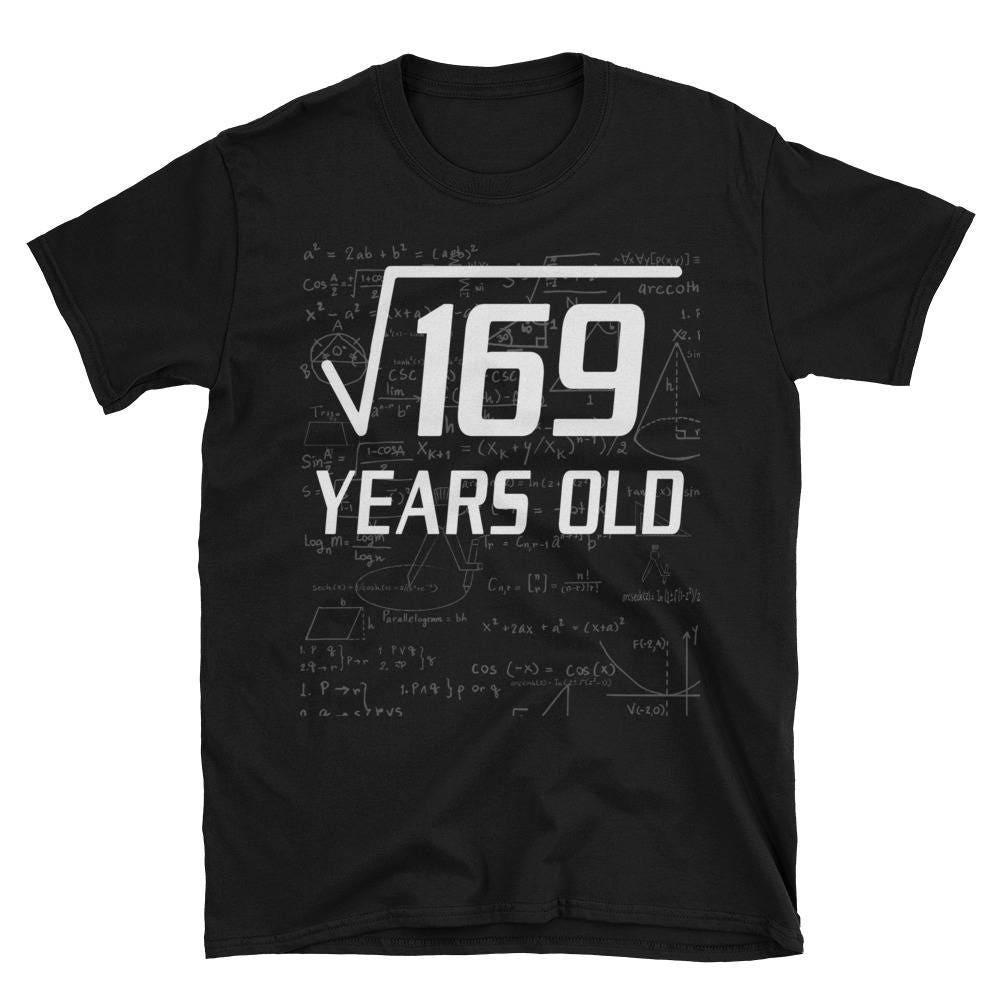 Wurzel von 169 lustige 13 Jahre alte lustige 13. Geburtstag | Etsy
