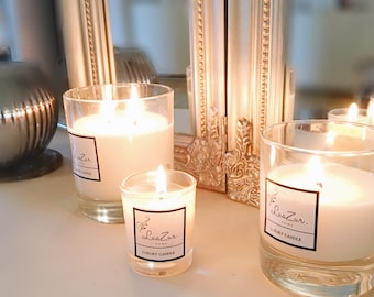 Pomegranate Noir- Handmade Luxury Candle - 100% Soy Vegetable wax. Scented Candles - Luxury Home Gift - Jo Malone inspired