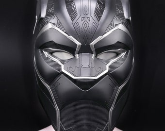 Black panther Inifinity war helmet 1 1 scale fully pattern detail  1cf4b2044670