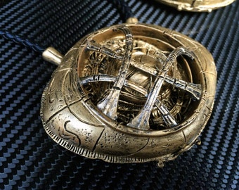 EYE OF AGAMOTTO Dr. Strange marvel movie. Infinity stone Life-size scale with fully pattern detail and paint for collectable and cosplay