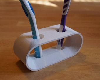 Designer brush holder