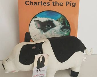 Charles the Pig Book & Plush combo