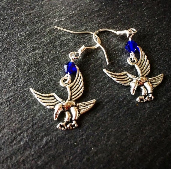 Inspired Harry Potter Ravenclaw House Hex Collection Earrings ~*House  Trinkets Collection*~, Ravenclaw Sigil Earrings
