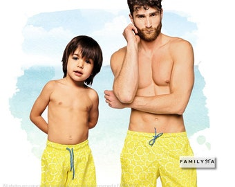 42f338d8c8 Daddy And Me Matching Trunks, Matching Dad, Father And Son Matching  Swimsuits, Matching Bathing Suits, Men Brief Swimsuit, Matching Swimwear