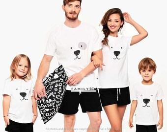 Family Pajamas, Matching Pajamas, Holiday Polar Bear Pajamas, Matching Jammies, Family Pjs, Cute Pajamas, Matching Family Jammies, Family