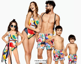 6428c5f77b Family Matching Swimsuits