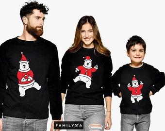 Matching Christmas Family, Matching Winter Sweatshirts, Matching Family Outfit, Xmas Set, Family Matching Set, Christmas Sweaters, Pullovers