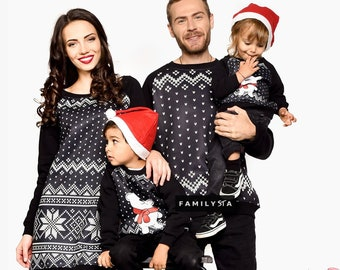 Matching Family Christmas Outfits Australia.Family Matching Etsy