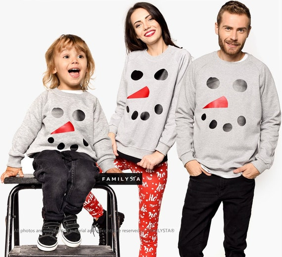 Family Matching Sweaters Christmas Sweaters Matching Family Etsy