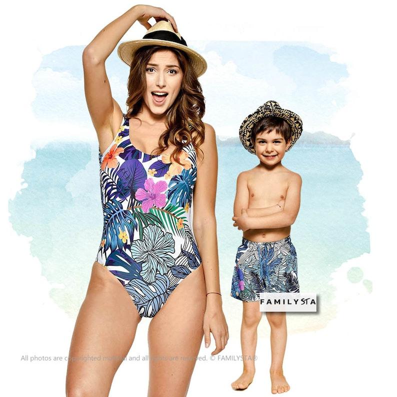 73e6f4e857 Matching Swimsuit Matching Kid Swimsuit Mothers Day Gift