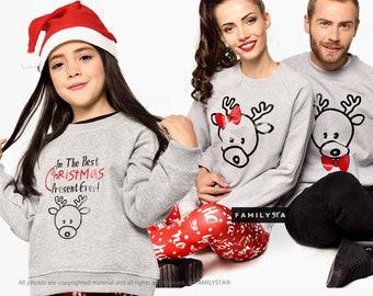 Christmas Matching Sweaters, Christmas Matching Outfit, Family Matching Set, Christmas Sweaters, Family Sweatshirts,Matching Family Sweaters