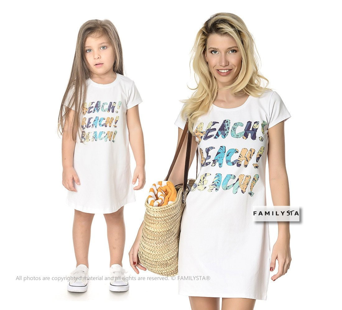 a517628a7a8 Matching mommy and me dress white dress mother gift mother etsy jpg  1100x1000 Matching white dress