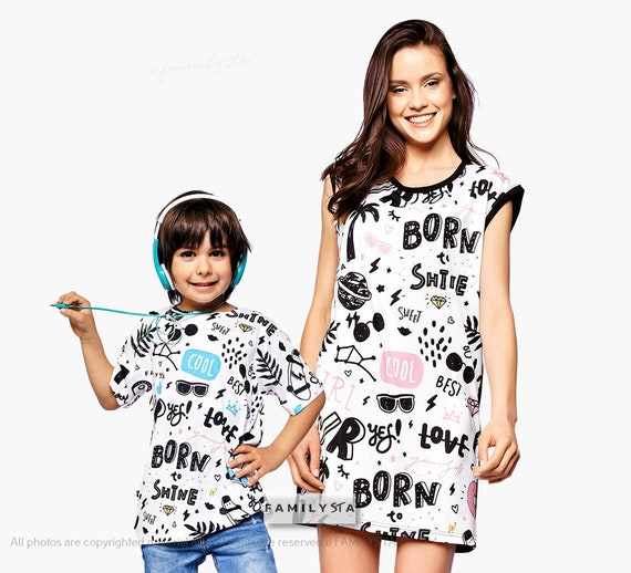 Birthday Gift Mother/'s Day Mum And Son Matching Matching Mum and Son Pyjama Set Matching Mother And Son Lounge Set Christmas Gift